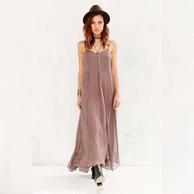 UO Kimchi Blue Dancer Slip Dress - Size 0