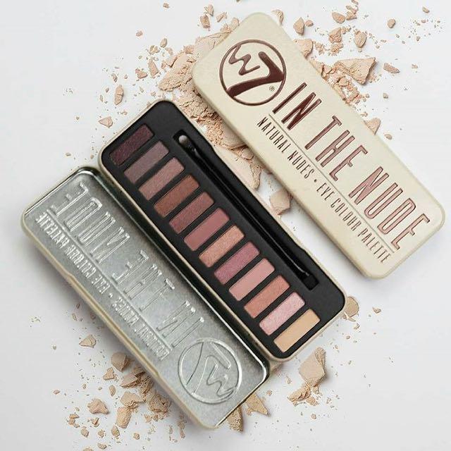 W7 Eyeshadow Palette In The Nude