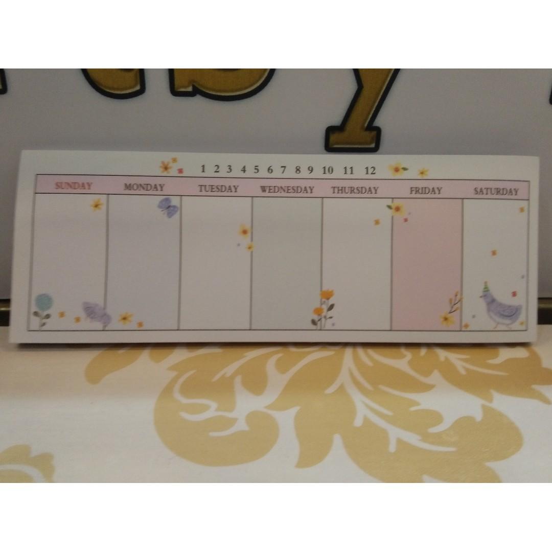 Weekly Mini Planner