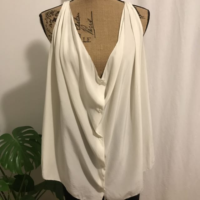 Wilfred By Aritzia Silk Blouse
