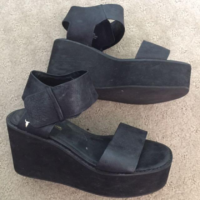 Windsor Smith Platform Sandals Size 8