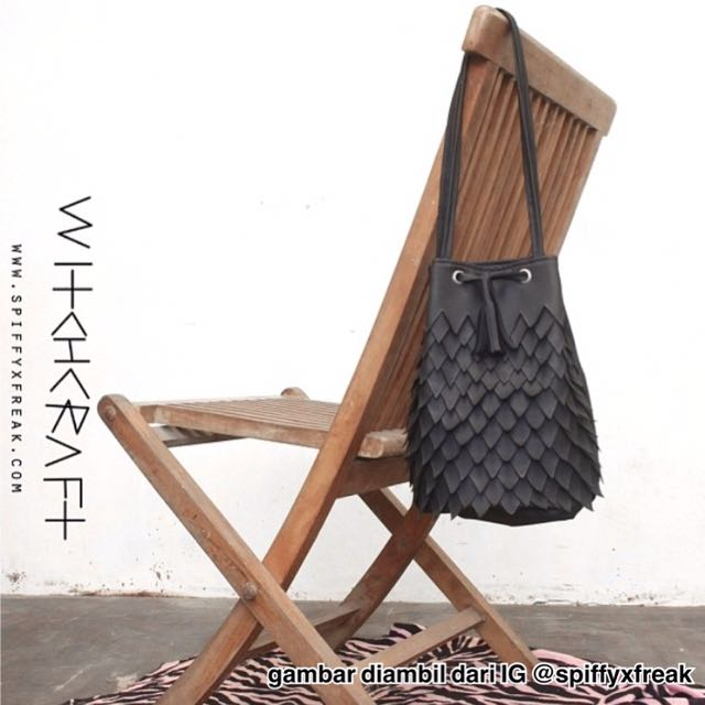 Witchcraft Bag by SPIFFYxFREAK (black)