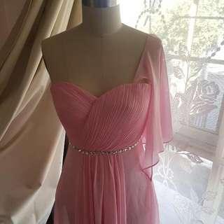 Pink Off Shoulder Dree