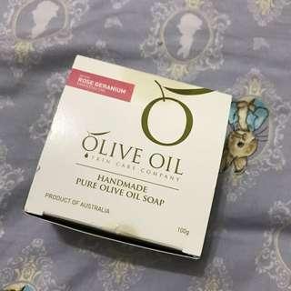朵昂思初榨橄欖油手工皂玫瑰天竺葵