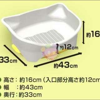 全新 Unicharm DeoToilet 迷你型雙層貓砂盤貓廁所  寵物用品