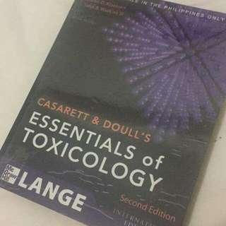 Toxicology By Casarett