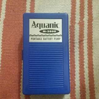 Portable Battery Pump (Fish Tank)