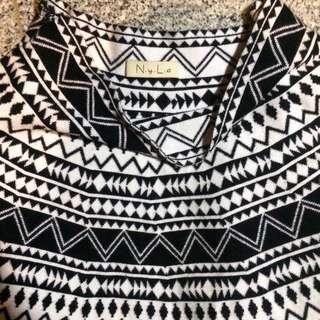 Nyla Tribal Flare Skirt
