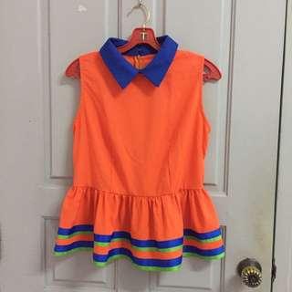 Orange Baby Doll