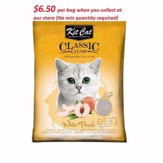 [ PET FOODIES ] Kit Cat Litter at $6.50 per bag