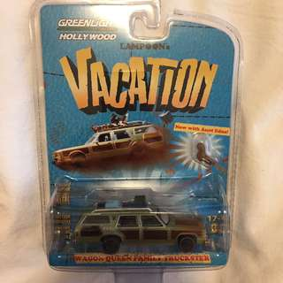 Greenlight Hollywood National Lampoon Wagon Queen Family Truckster