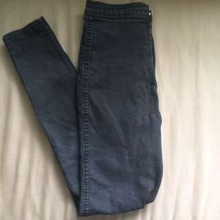American Apparel high waisted jeans (size small)