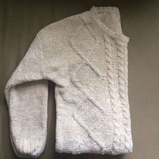 cozy sweater (size small)