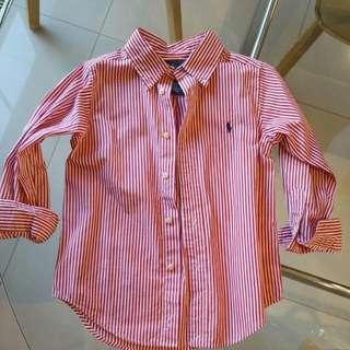 Ralph Lauren Boys Shirt Size 4T