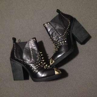 Zu Studded Boots