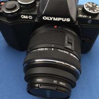 Olympus OM-D EM-10 with 14-42 lens.