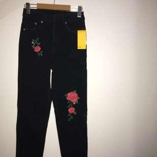 H&M Rose Jeans