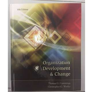 Organisation development and change