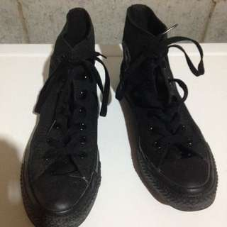 Converse Black High tops