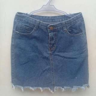 No Brand Denim Skirt