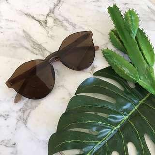 Coffee Brown Sunglasses UV400