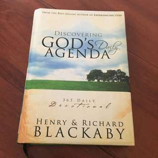 Discovering God's Agenda Daily Devotional Book