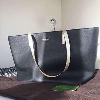 AUTHENTIC Kate Spade Black Tote Bag