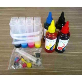 CISS Kit for HP PhotoSmart and Canon Printer