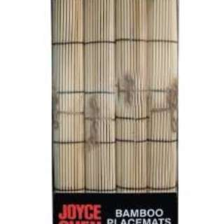Joyce Chen 4 Piece Bamboo Placemats