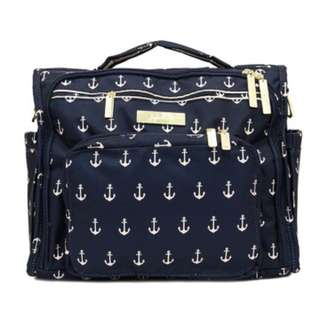 JuJuBe Legacy Nautical Collection B.F.F. Convertible Diaper Bag, The Admiral