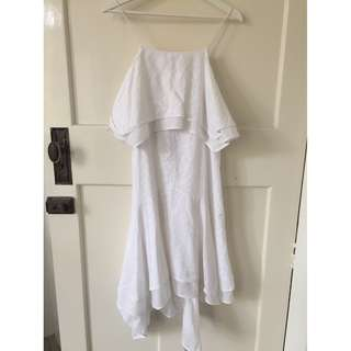 Camilla and Marc beautiful white dress - size 8