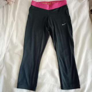 Nike 7/8 Tights Xs Dri-fit