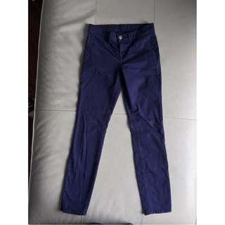 J Brand Sapp Sapphire Blue Skinny Leg Jeans Pants Size 26 Style# 811k120 GUC