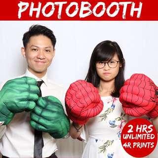 Photobooth Instant Print - Wedding/Birthday/D&D