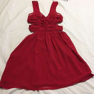 Red Topshop Size 2