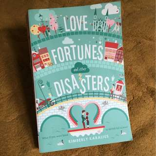 Novel import romance second/bekas/preloved Love fortune and other disasters