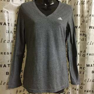 ADIDAS Aeroknit Long Sleeve Climacool Grey Training Running Shirt EUC Sz. S