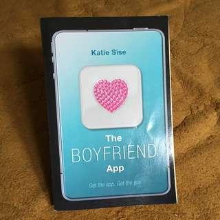 Novel import romance second/bekas/preloved The boyfriend app