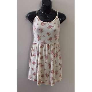 BRANDY MELVILLE Spaghetti Strap Jersey Cotton Modal Summer Dress Sz. Small