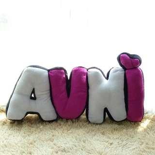 Customize Alphabet Pillow (AUNI)