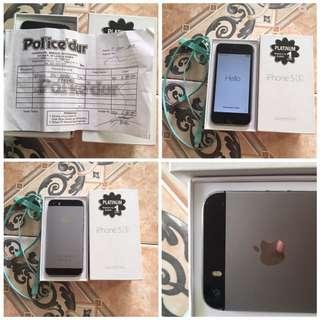 Iphone 5s Gray 32gb