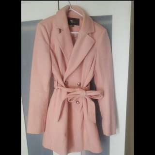 Pink Coat/jacket Size 10