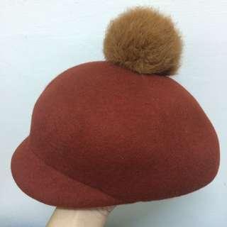 🚚 毛球圓帽