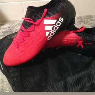 Adidas X16.1 Soft Ground Soccer/Football Boots - PRICE NEGOTIABLE