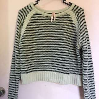 Ally knitted Bomber