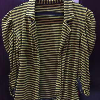 Cardingan Stripe Yellow