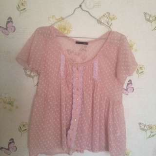 Soft Pink Blouse