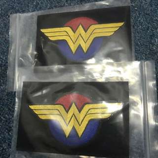 BNIP Wonder Woman Tactical Velcro Morale Badge