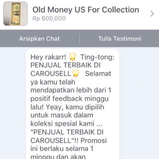 Thank You Carousell For Support