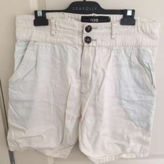 White ilabb Shorts